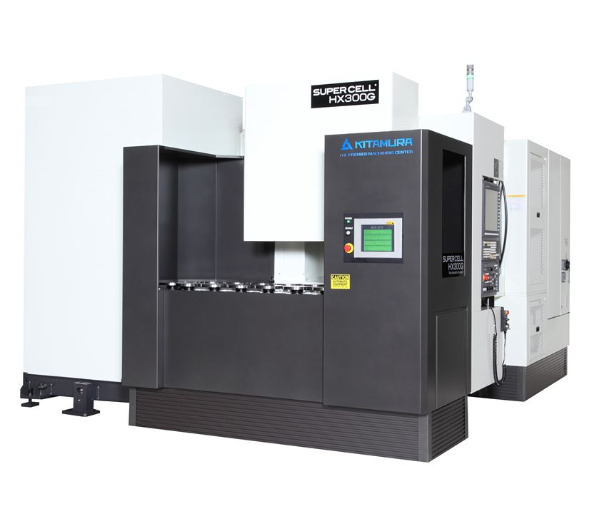 Kitamura Machinery will display its Supercell-300G at IMTS 2018