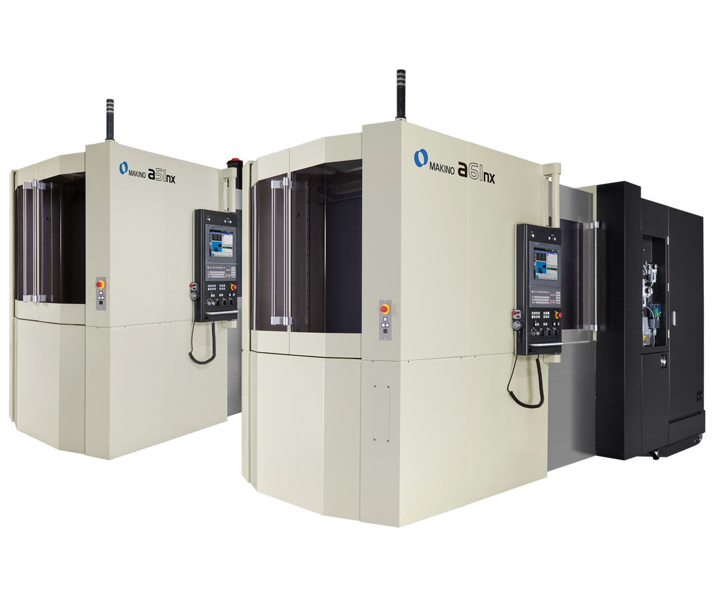 Makino will display its a51nx and a61nx HMCs at IMTS 2018.