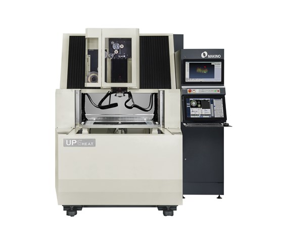 Makino will display its UP6 Heat Wire EDM at IMTS 2018.