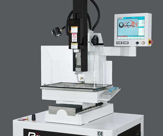 Methods Machine Tools will display Ocean Technologies' River 300 EDM drill machine at IMTS 2018.