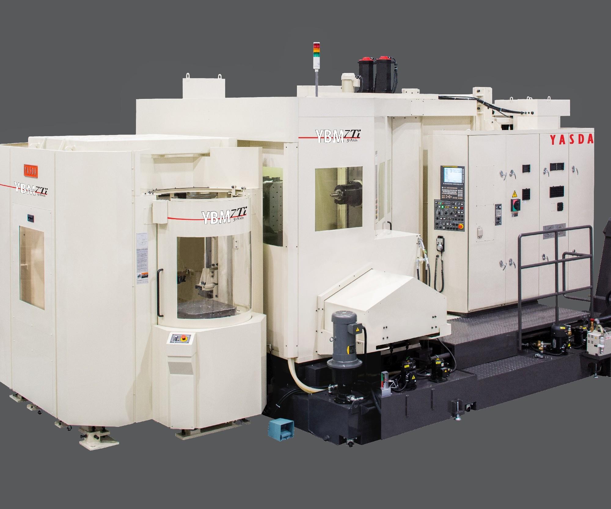 Methods Machine Tools will display Yasda's YBM 7Ti HMC at IMTS 2018.