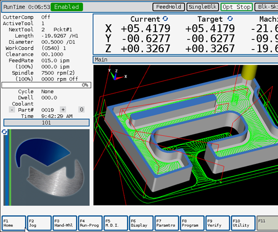 Milltronics will display its ChipBoss software at IMTS 2018.