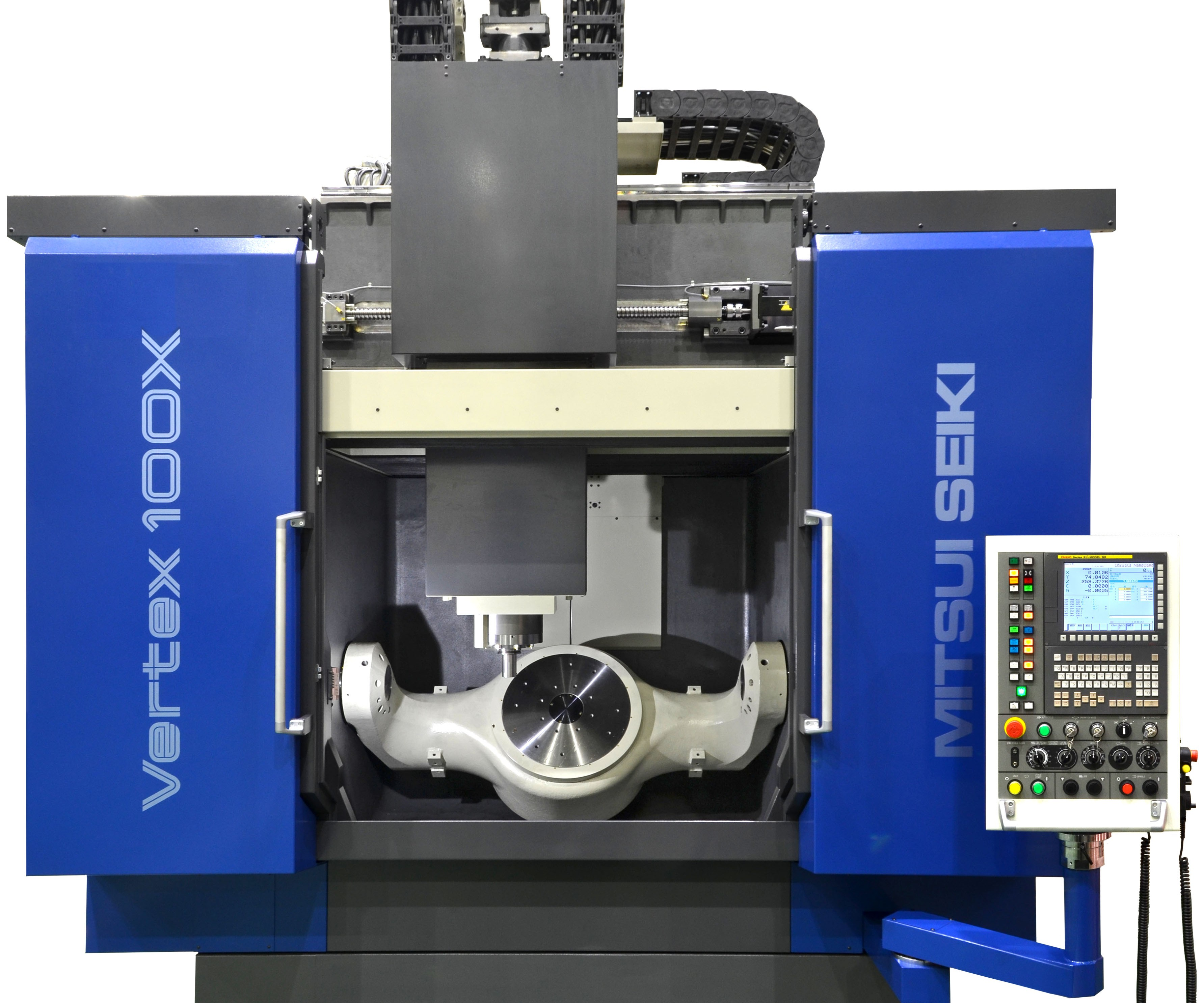 Mitsui Seiki will display its Vortex 100 VMC at IMTS 2018.