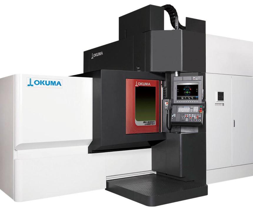 Okuma will display its MU-8000V Laser Ex series of multi-tasking machines at IMTS 2018.