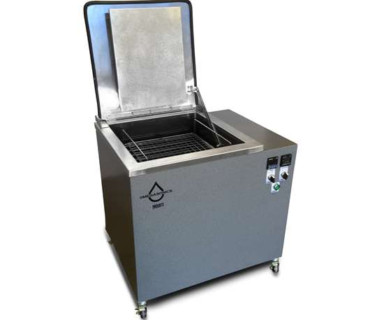 Omegasonics will display its ultrasonic cleaning units at IMTS 2018