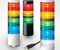 Patlite will display its LR6-USB signal tower series at IMTS 2018.