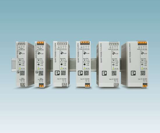 Phoenix Contact will display its Quint Power series of low-wattage power supplies at IMTS 2018.