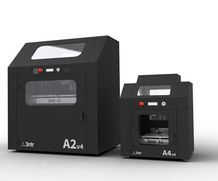 Plural Additive Manufacturing will display 3ntr's A2V4 and A4V4 3D printers at IMTS 2018.