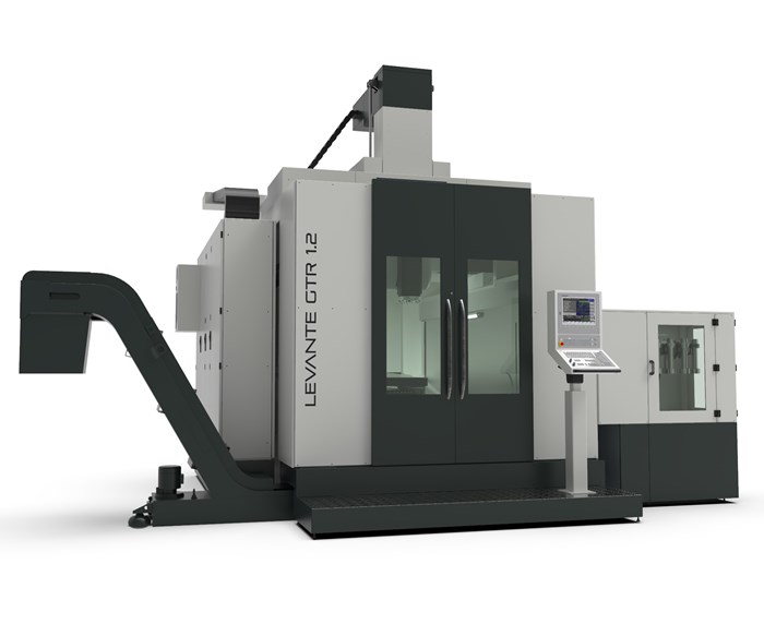 Promac will display its Levante GTR six-axis machine at IMTS 2018.