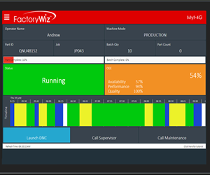 FactoryWiz will display its Flexible Tablet Interface software at IMTS 2018.