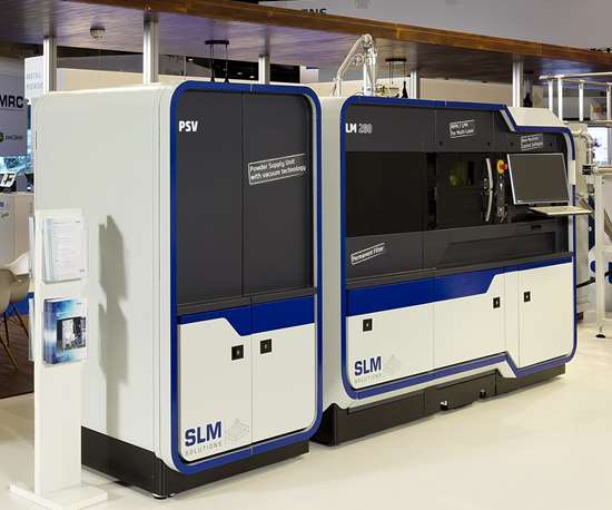 SLM Solutions will display its SLM 280 3D printer at IMTS 2018.