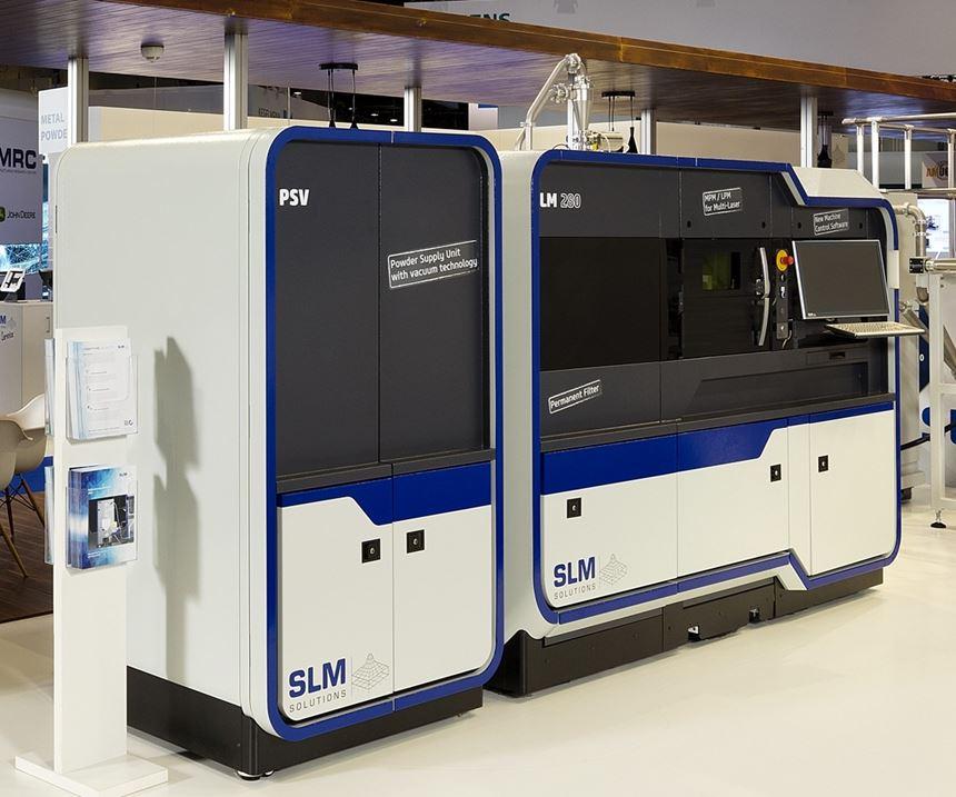 SLM Solutions presenta la impresora3D SLM 280 en IMTS 2018.