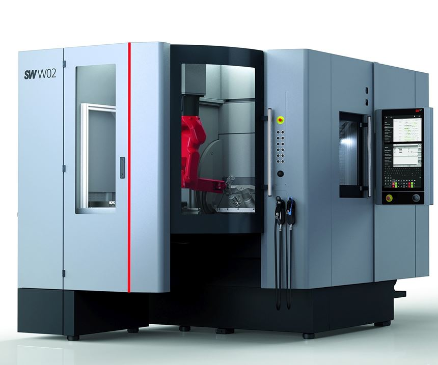 SW North America will display its BA WO2-22 machining center at IMTS 2018.