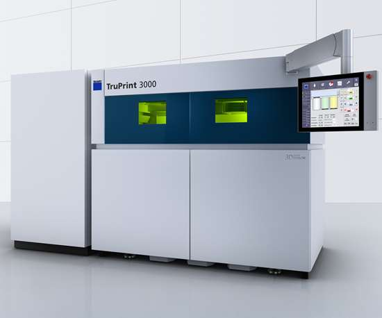 Trumpf will display its TruPrint 3000 at IMTS 2018.
