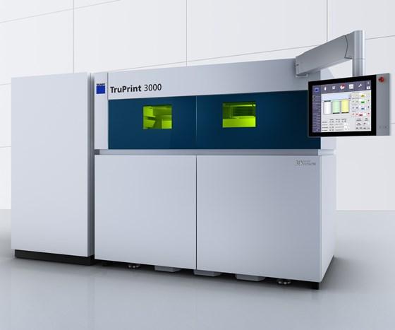 Trumpf will display its TruPrint 3000 at IMTS 2018.