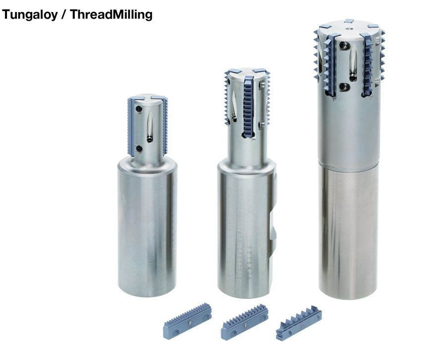 Tungaloy will display its ThreadMilling ETLN series at IMTS 2018.
