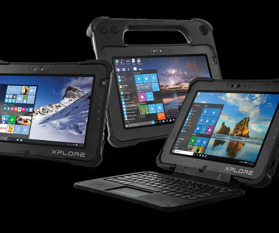 Xplore Technologies will display its L10 series of mobile computing tablets at IMTS 2018.