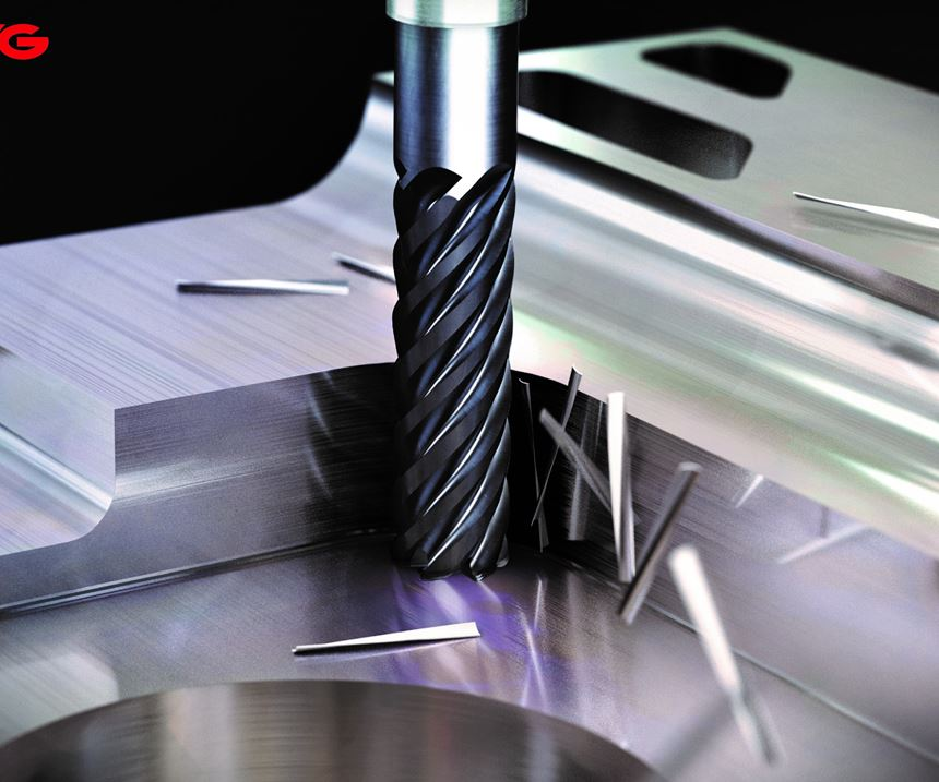 YG-1 Tool Co. will display its V7PlusA and Titanox series of end mills at IMTS 2018.