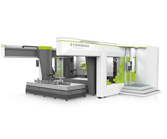 Zimmermann will display its FZH HMC at IMTS 2018.