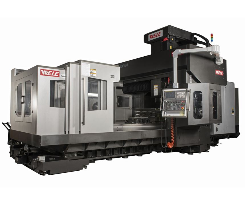 Toyoda bridge mill machining center