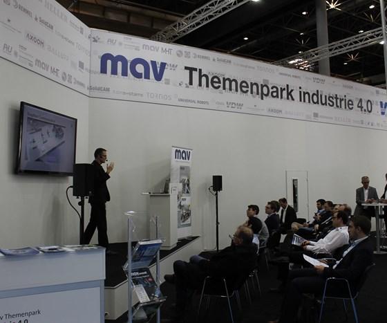 Industry 4.0 at Metav 2018
