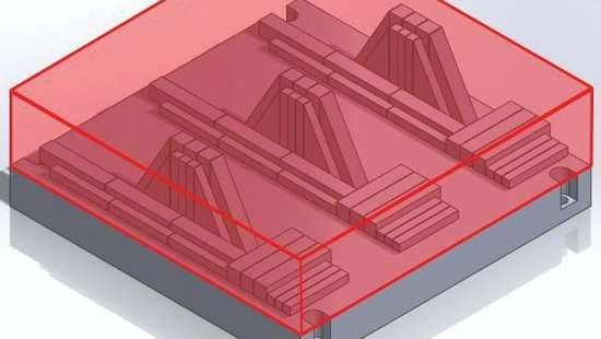 additive manufacturing figure showing build