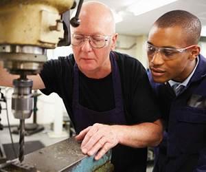 machinist and apprentice