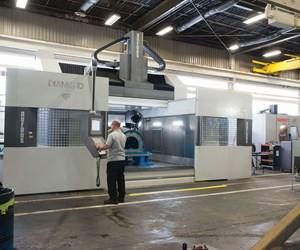 Parpas Diamond 30 five-axis machine tool