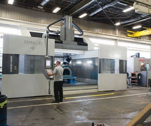 Parpas Diamond 30 five-axis machine tool