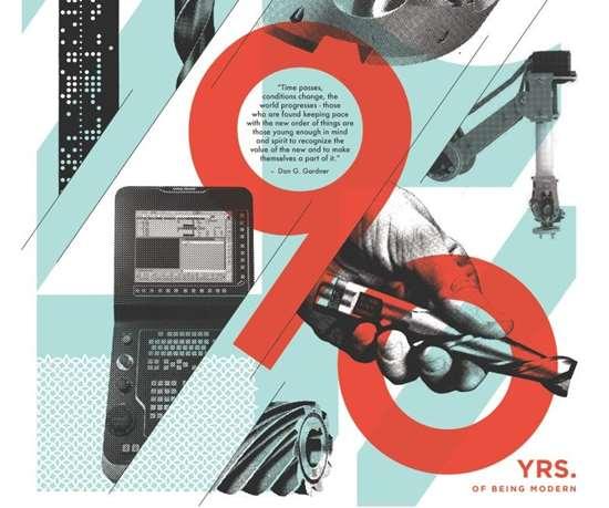 modern machine shop magazine 90th anniversary art