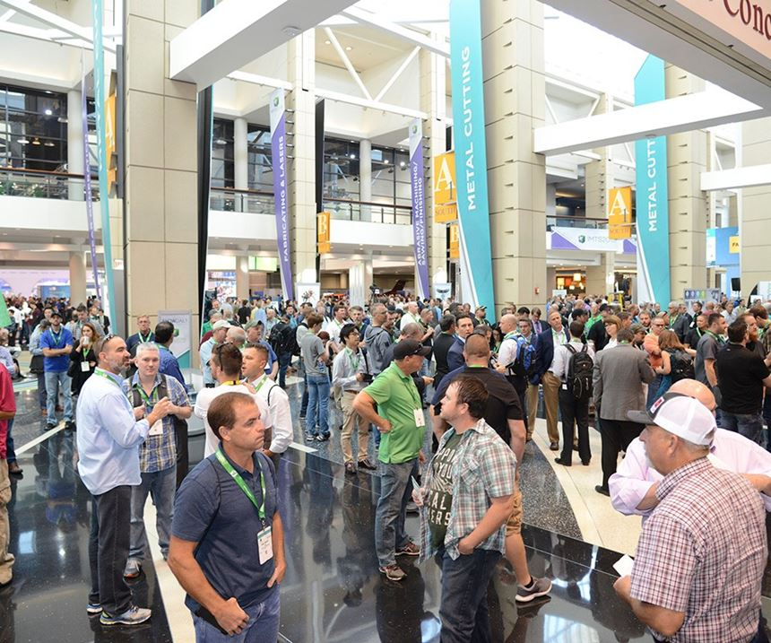 IMTS crowd