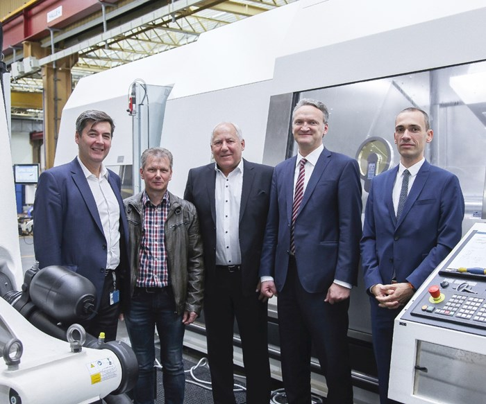 members of WFL Millturn Technologies and Frai Elektromaschinenbau