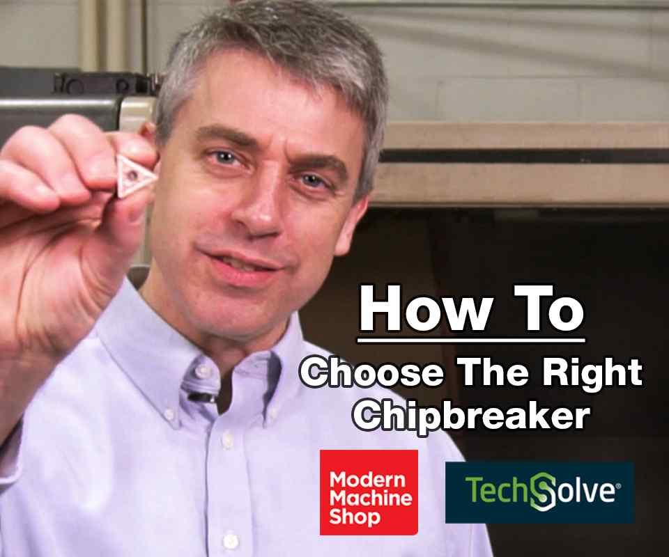 How to choose the right chipbreaker
