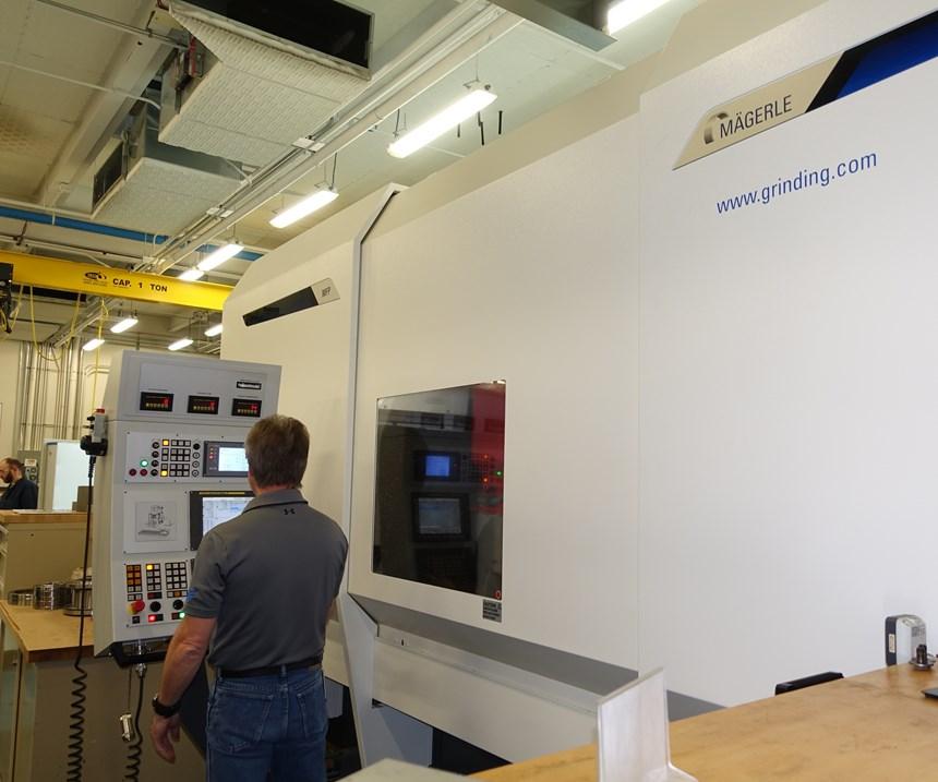 希金斯研磨技术中心的Mägerle研磨机