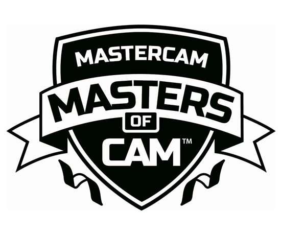 Mastercam Masters of CAM logo