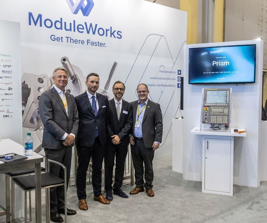 ModuleWorks and Sandvik Machining Solutions collaborate on CNC program.
