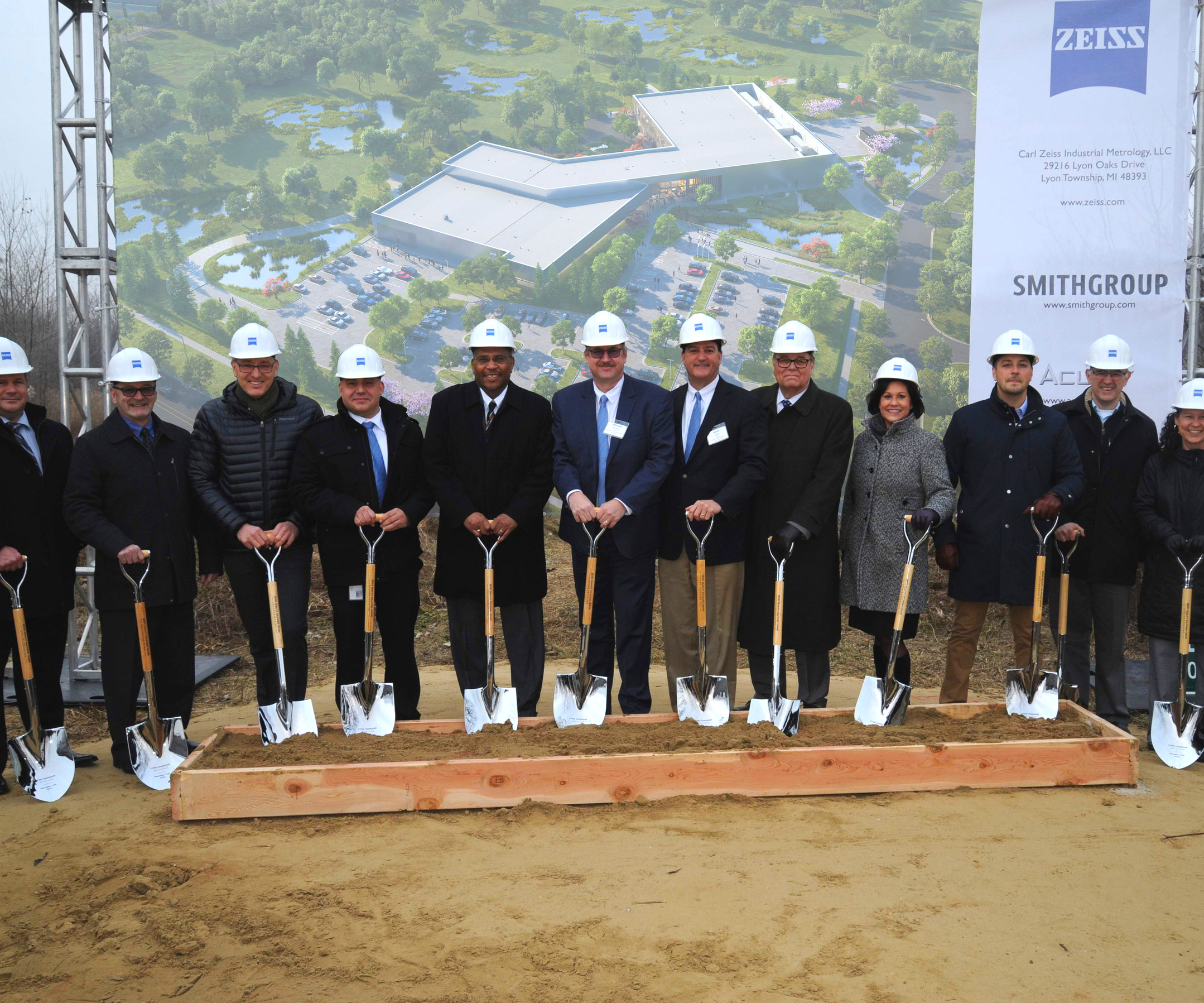 Zeiss facility groundbreaking