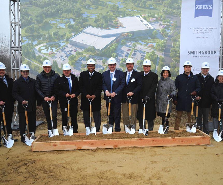 Zeiss facility groundbreaking
