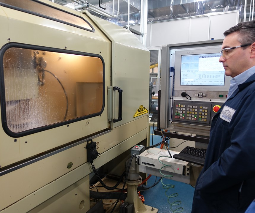 vibration research at Saint-Gobain Higgins Grinding Technology Center