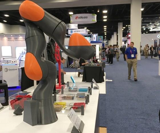 MaerBot 3D printed Kuka robot prototype