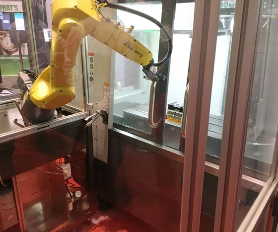 robot from APT mounted on a stable but movable platform