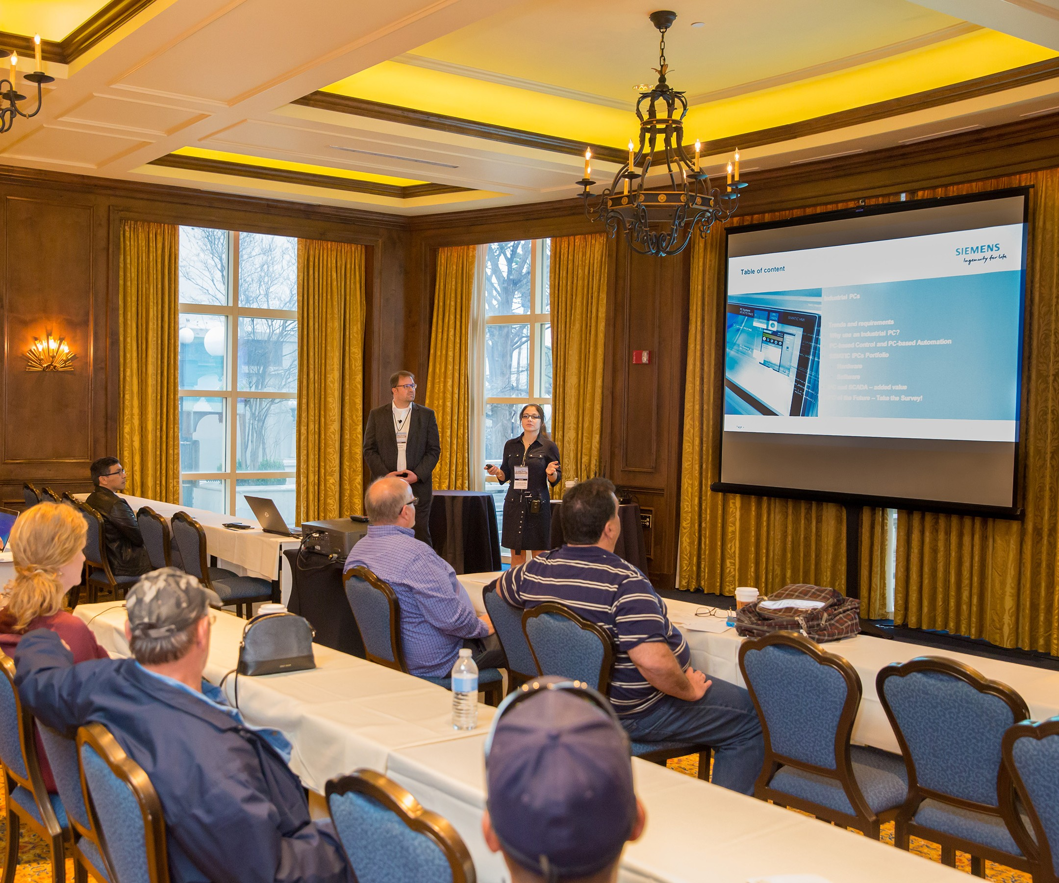A presentation at Siemens' SCADA/IPC Days 2018