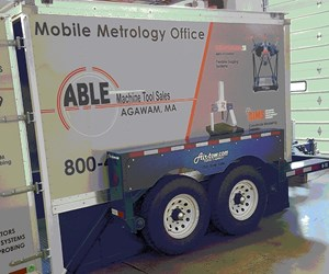 Able Machine Tool Sales' Mobile Metrology Office trailer