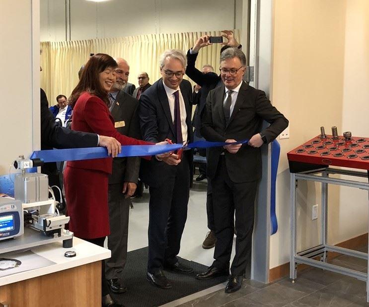 MarpossFremont technical center opening