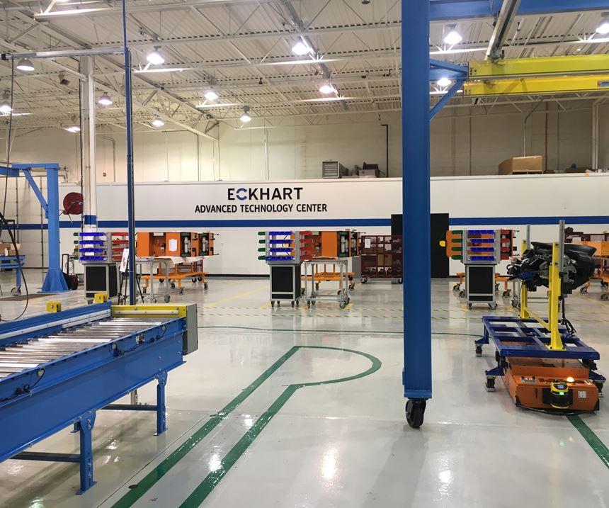 Inside Eckhart's Advanced Technology Center
