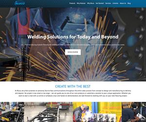 Screenshot of bluco.com