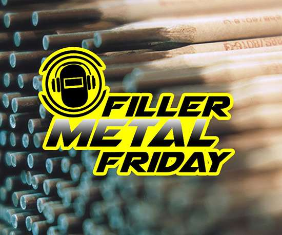 Filler Metal Friday logo