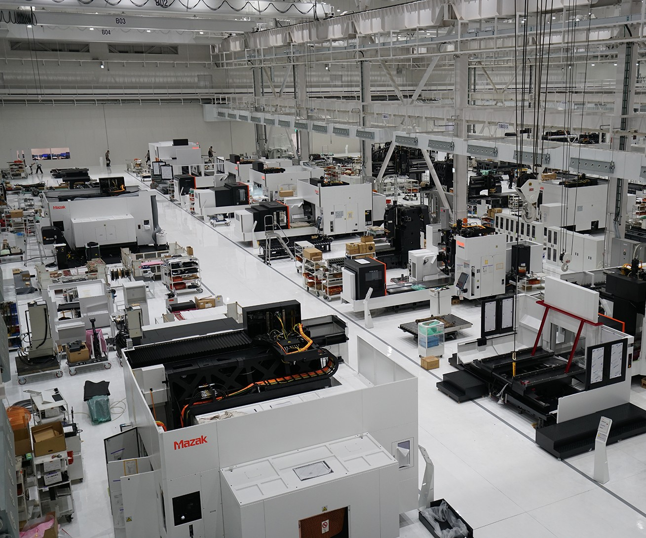 Mazak's new facility in Inabe City, Japan.
