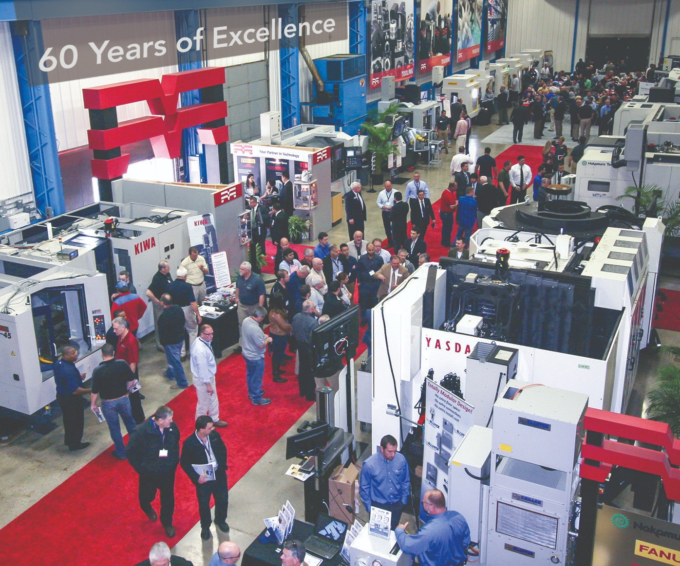 Methods Machine Tools celebrates its 60th anniversary.
