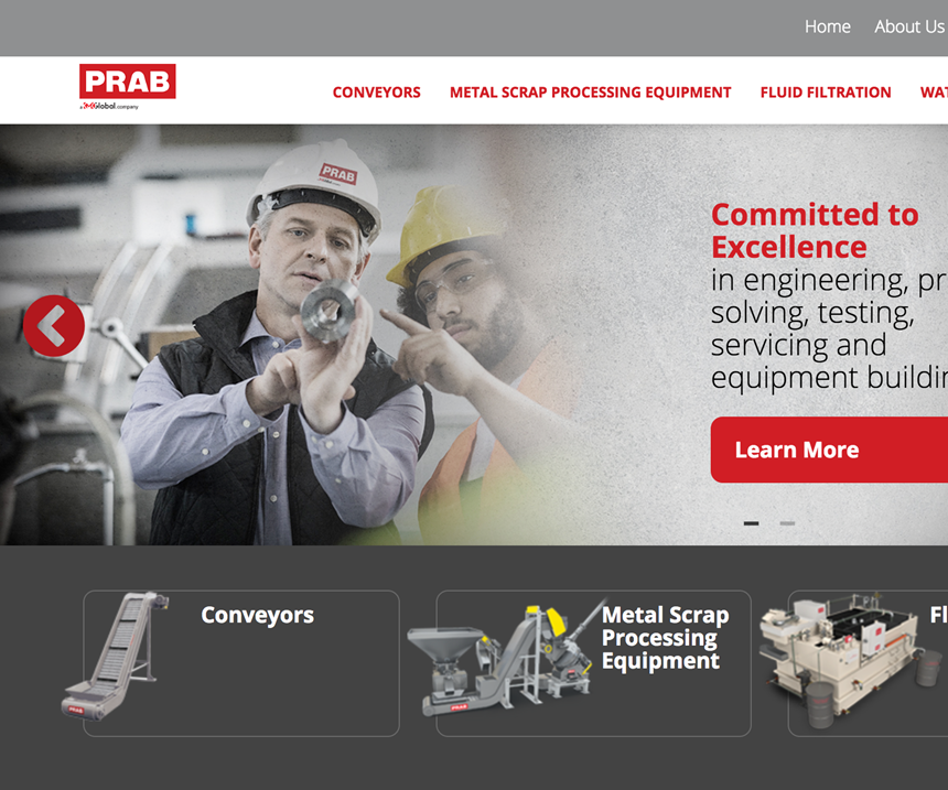 Prab launches redesigned website.